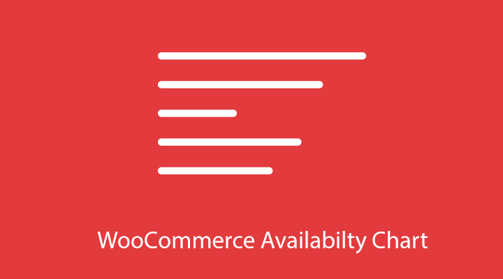 WooCommerce Availability Chart