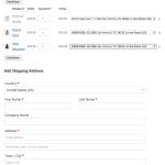 3. Custoemr can select multiple addresses