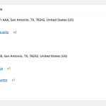 6. Admin - Multiple addresses show in Edit Order