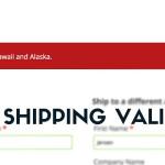 Setting up Shipping validation rules (1)