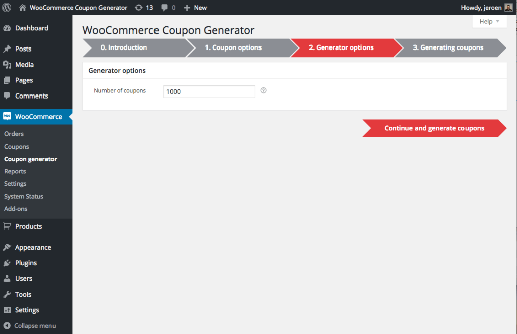 coupon-generator-for-woocommerce-step-2
