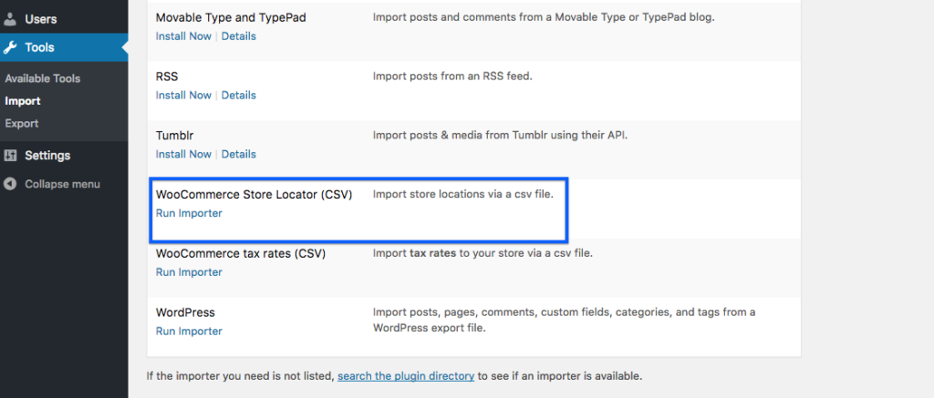 Use the CSV importer to bulk add store locations to your site