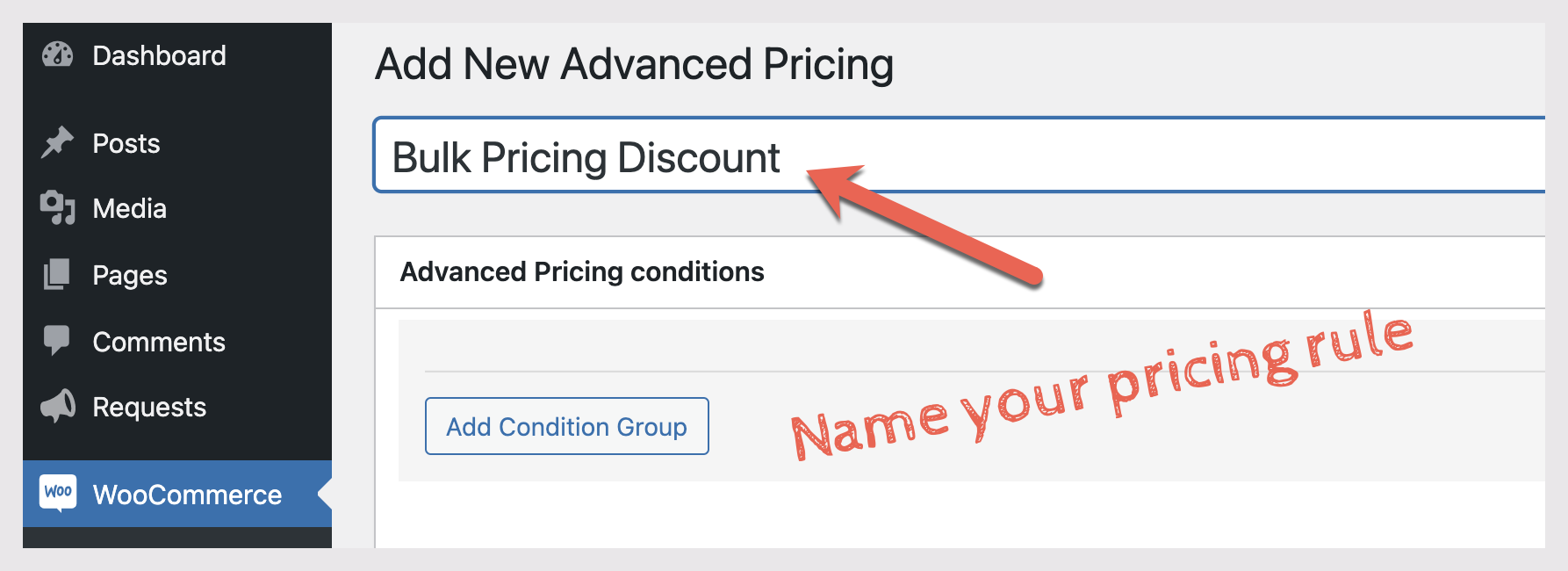 Advanced Pricing Title