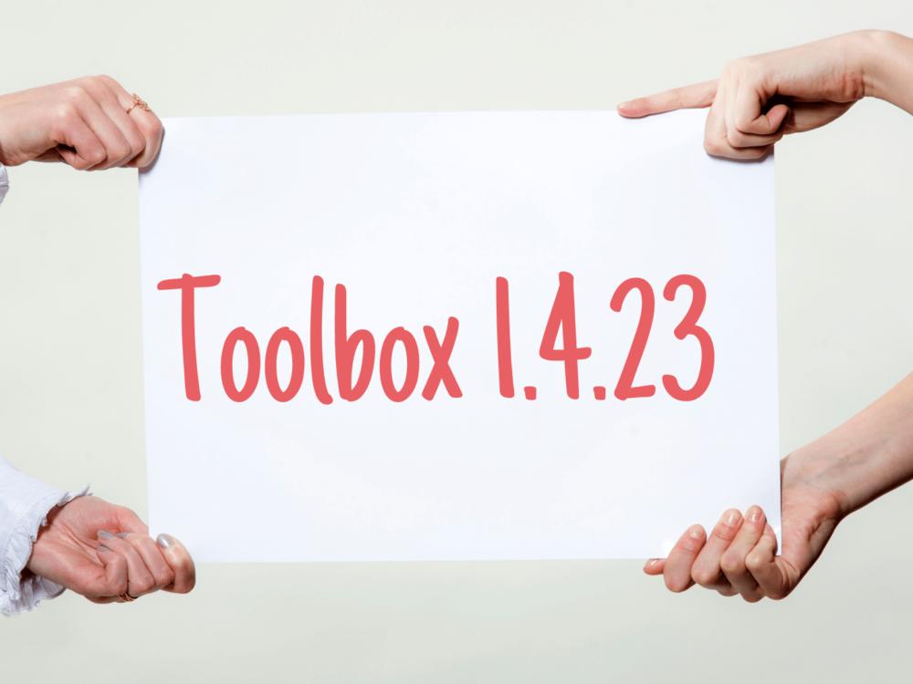 toolbox 1.4.23