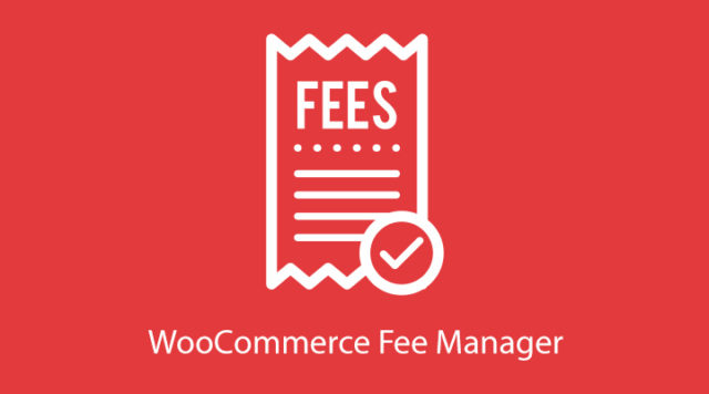 WooCommerce Fee Manager