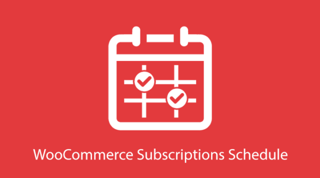 WooCommerce Subscriptions Schedule