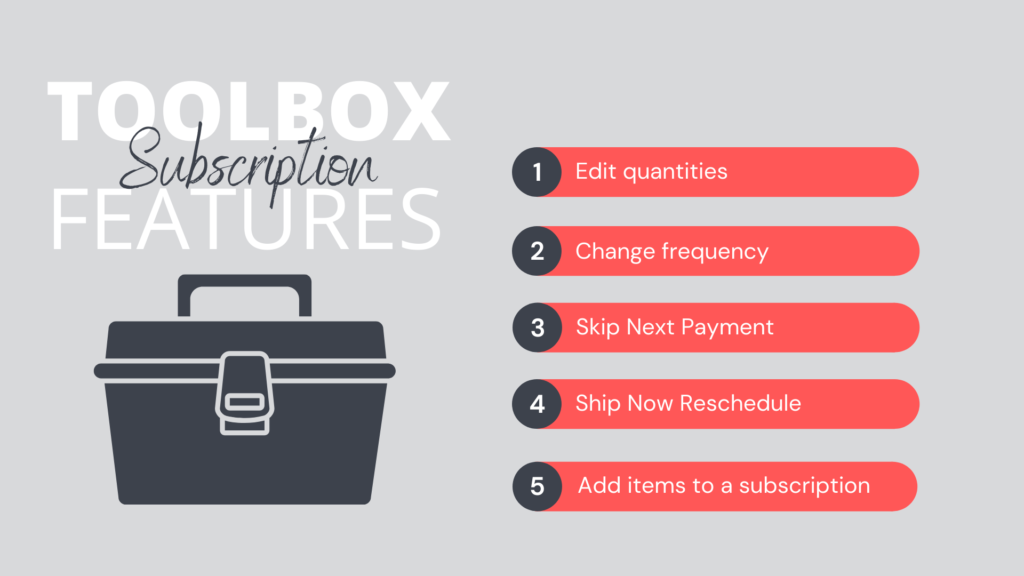 Toolbox for WooCommerce Subscription Features